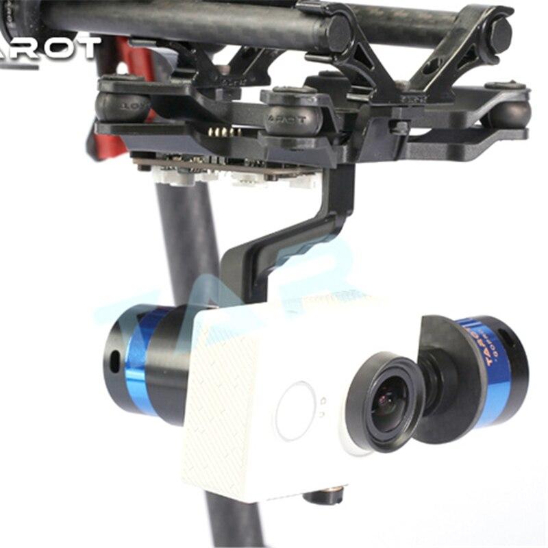 Tarot TL68A15 support de caméra à cardan sans balai 2 axes avec Gyroscope ZYX22 pour caméra de sport MIUI Xiaomi Yi - 3