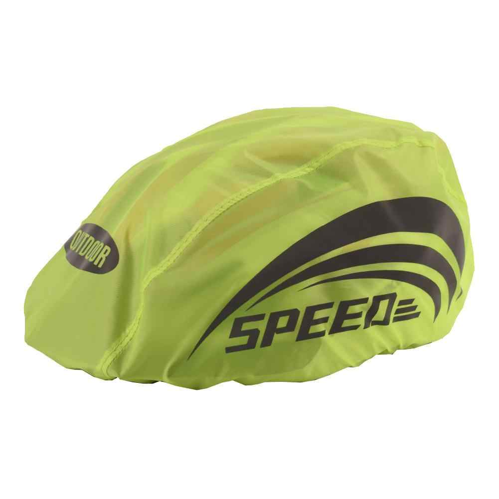 Helmet Cover Cycling Bicycle Helmet Rain Waterproof Cover With Reflective Strip