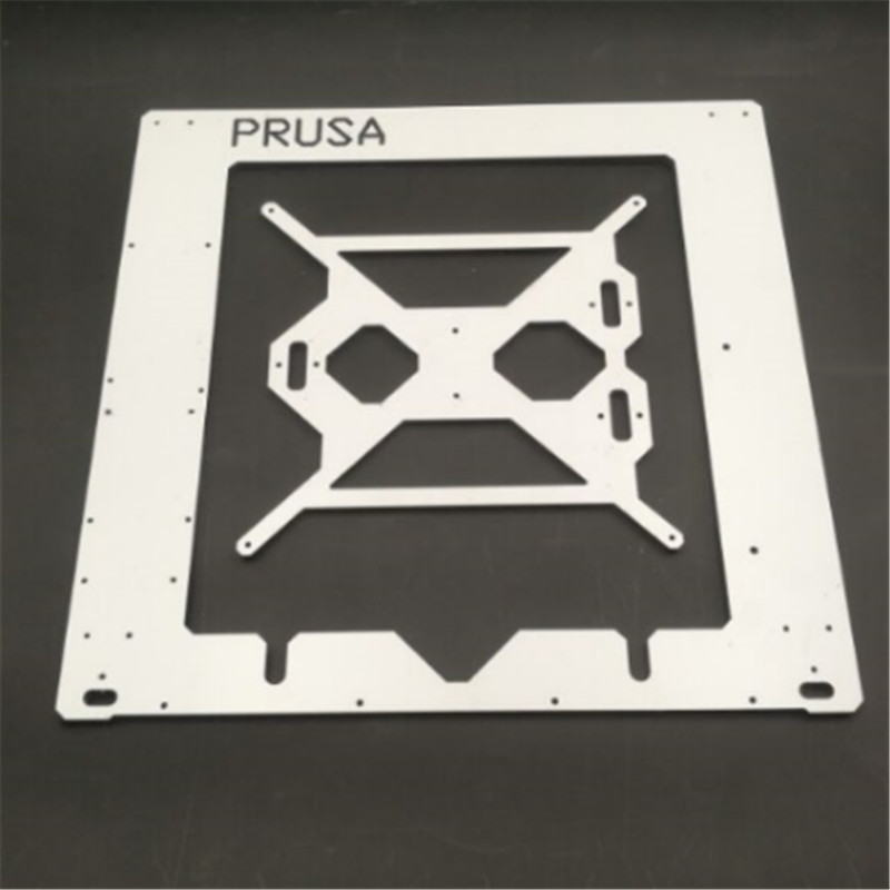Prusa i3 RepRap 3D printer dibond aluminium frame single 6mm Aluminium composit Melamine Prusa frame kit цена