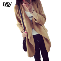 Women Long Sweaters And Cardigans Knitted Long Sleeve Loose Ladies Top Autumn Outwear Woman Cardigans Female