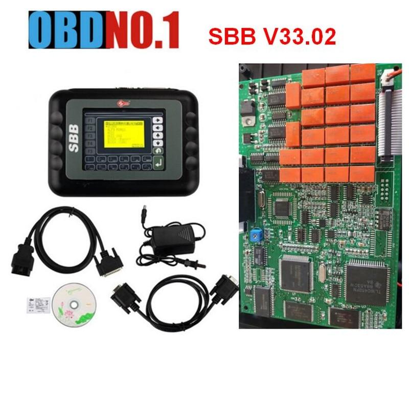 imágenes para 2017 versión SBB V33.02 silca sbb clave programador Universal Multi-Idioma fabricante dominante auto clave programador silca sbb V33.02