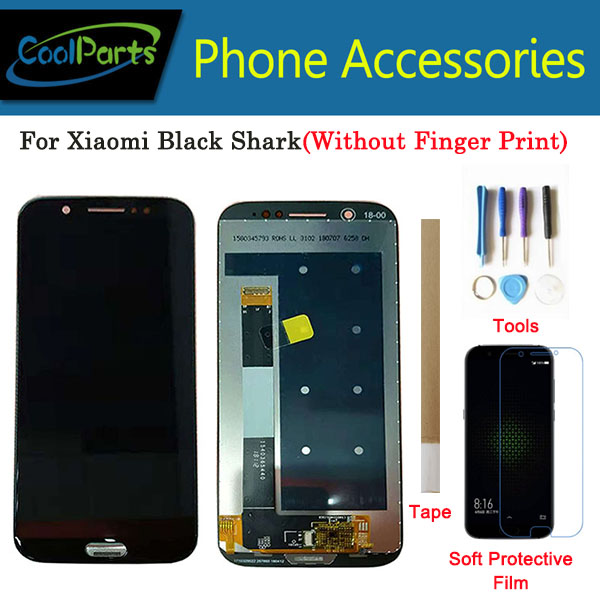 1PC/Lot High Quality 5.99 Inch For Xiaomi Black Shark LCD Display Screen+Touch Screen Digitizer Assembly Black Color With Kits1PC/Lot High Quality 5.99 Inch For Xiaomi Black Shark LCD Display Screen+Touch Screen Digitizer Assembly Black Color With Kits