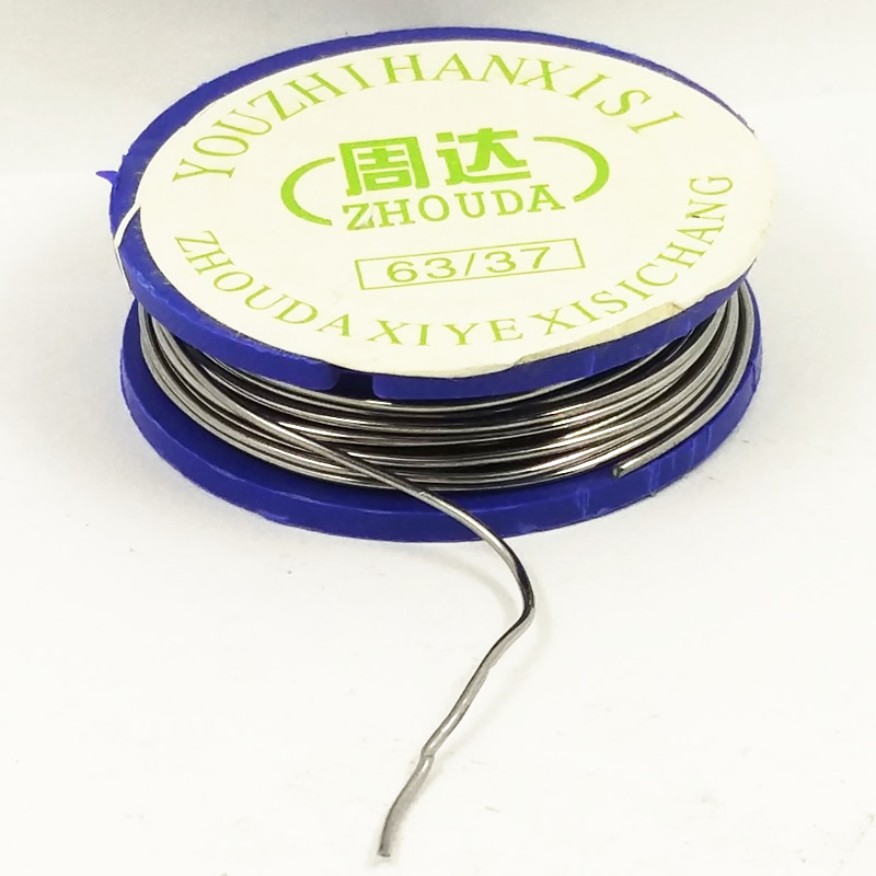 DGKS Welding Iron Wire Reel 10g/3.5oz FLUX 2.0% 0.72mm 63/37 45FT Tin Lead Line Rosin Core Flux Solder Soldering Wholesale