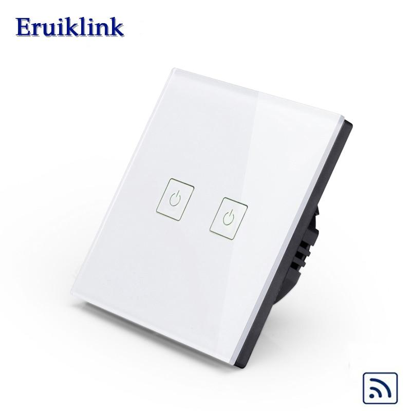 Interruptores e Relés sem fio para casa inteligente Switch Tipo : Remote Touch Wall Switch
