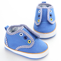 Blue Baby Shoes Branded Boy Girls Infant Sports Sneakers Soft Sole Kids Booties Toddler Boots First Walker Moccasins Bebe Sapato