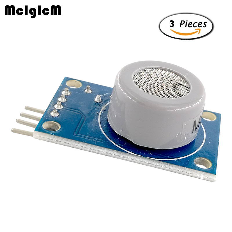 MCIGICM MQ-7 carbon monoxide CO sensor module gas sensor detection and alarm module