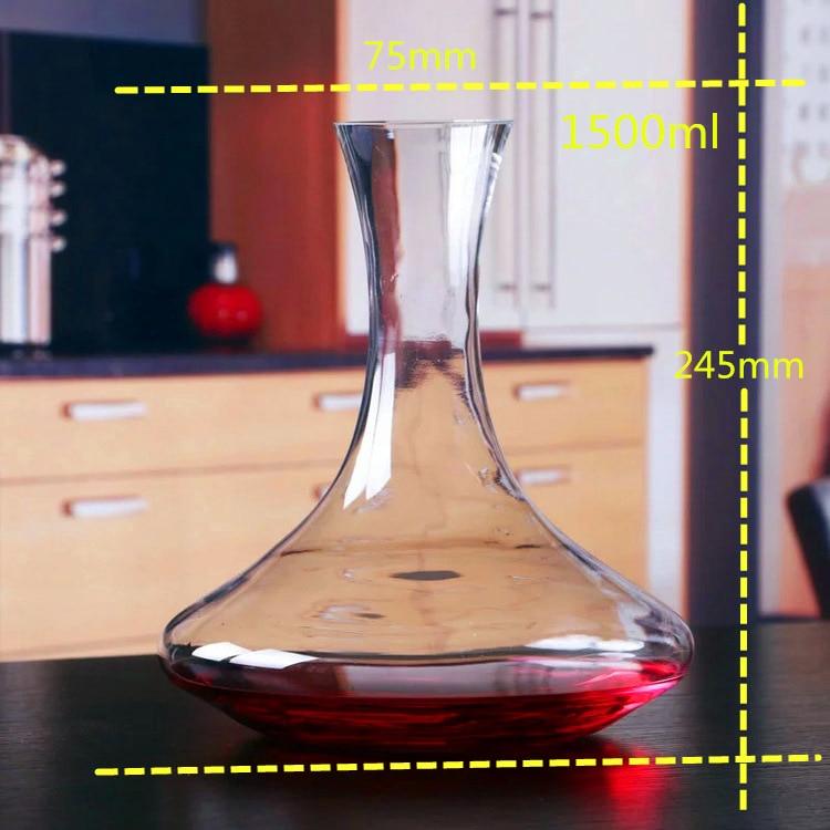 1 шт. 1500 мл стеклянные графины для вина - Кухня, столовая и бар - Фотография 4