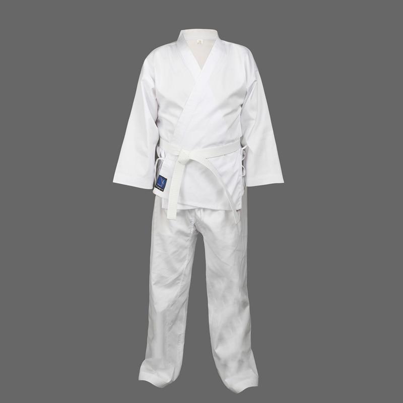Ultimate Taekwondo Students Uniform Plain Back TKD Suits Childrens Adults Kids