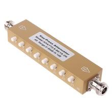 2019 hot Adjustable Variable Attenuator N 5W 0-90dBi DC-2.5GHZ 50ohm RF Coaxial 8-key цена и фото