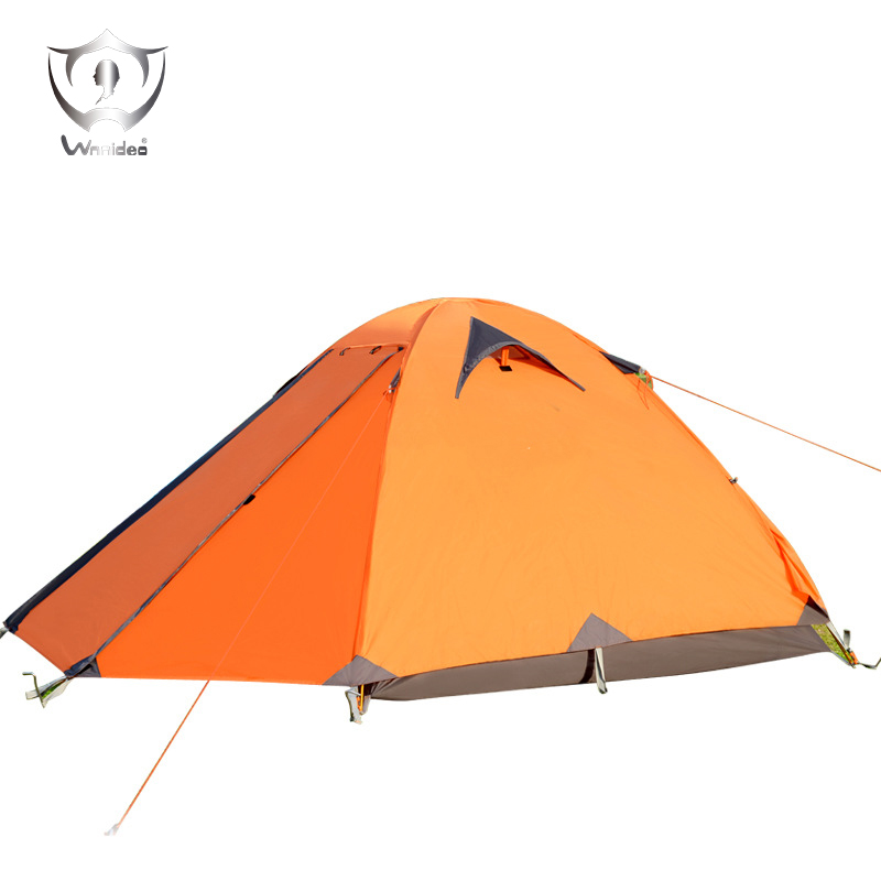 Outdoor Camping Tent Camping Tent Pole Double Aluminum Outdoor Camping Equipment Field Rainproof Tent ZF7-1103 outdoor camping hiking automatic camping tent 4person double layer family tent sun shelter gazebo beach tent awning tourist tent