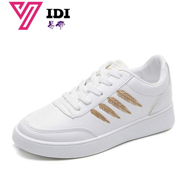 Spring New Designer Wedges White Platform Sneakers Women Shoes 2018 Tenis  Feminino Casual Female Shoes Woman Basket Femme Pink 944f848fe132