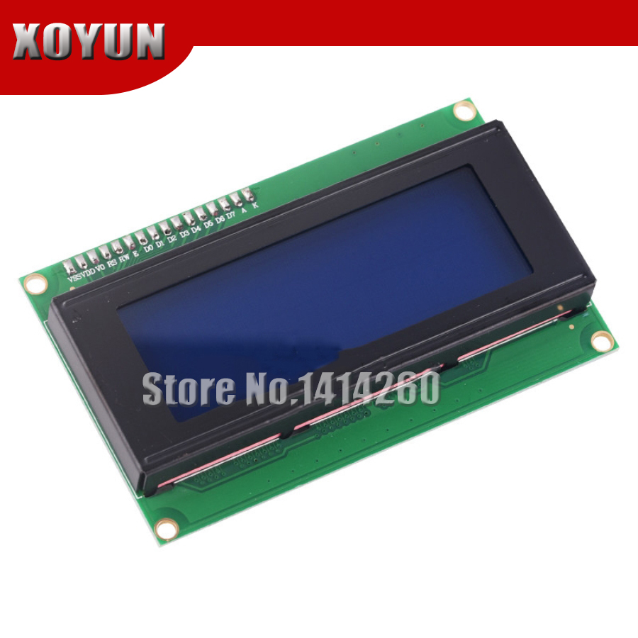 IIC/I2C 2004 LCD2004 LCD Module Blue Screen