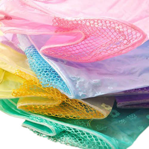 Floral Print Transparent Waterproof Cosmetic bags zip lock Toiletry Bathing Pouch Makeup Bag storage bag closet organizer bag