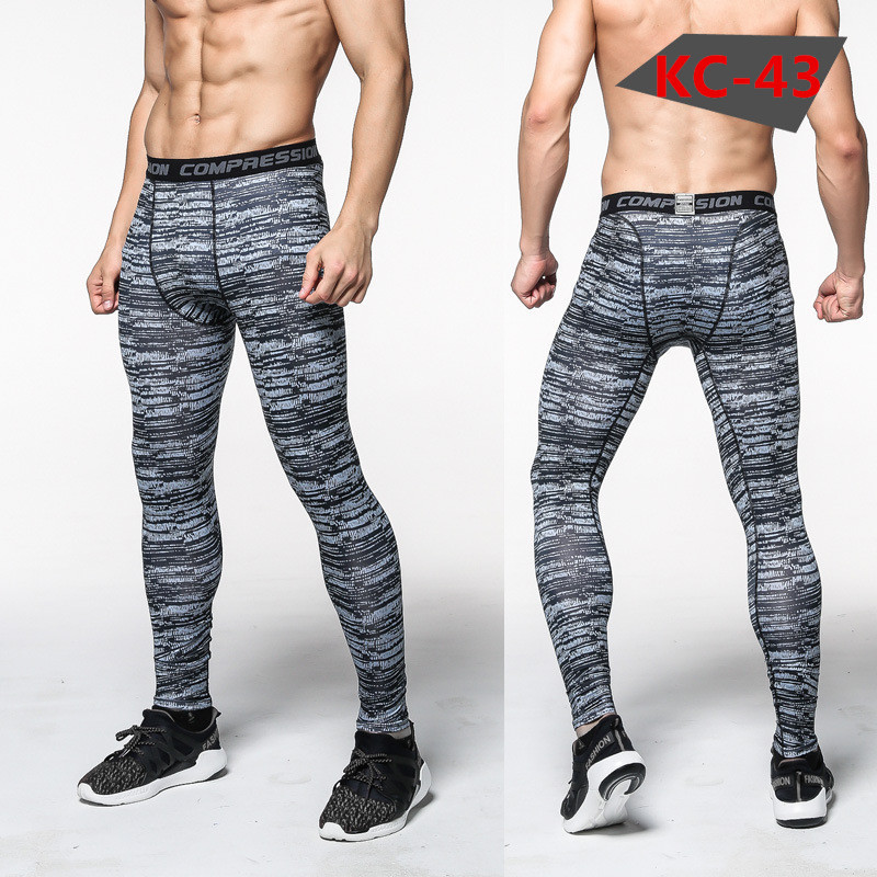 2018 Mens running pants basketball Tights Compression soccer running leggings sports trousers pants Gym Sports bottoms clothes