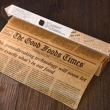 Cokytoop קלף נייר אפיית כלים מזון כיתה גריז נייר לחם המבורגר צ יפס עטיפות קוקי Oilpaper 3 מטרים