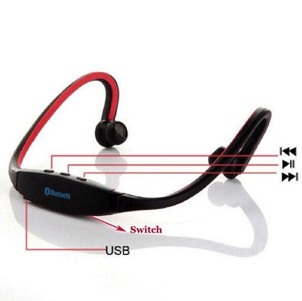 100pcs Bluetooth Headphone S9 Sport Wireless Handfree