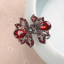 High Quality Rhinestones Hair Clip Hairpins Crystal Crab Hair Claws For Women Girl Hair Accessories