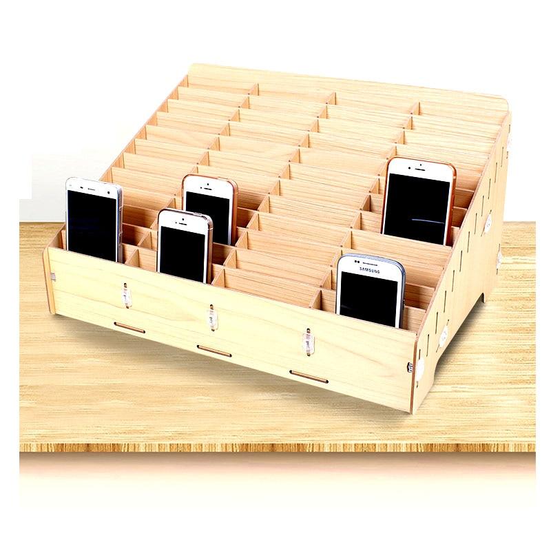 Image 2 - سطح المكتب شاشة المحمول تخزين الهاتف إصلاح إدارة صندوق تخزين للمدرسة مكتب المنصات الخشبية أدوات صناديق-في مجموعات أدوات يدوية من أدوات على AliExpress