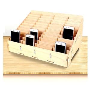 Image 2 - Настольный передвижной ящик для инструментов для хранения телефона, Ремонтный ящик для офиса, школы, деревянные поддоны, инструменты