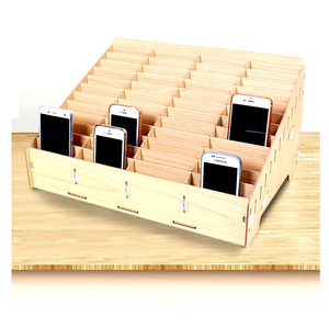 Image 2 - Desktop Mobile Tool Box Storage Phone Repair Management Storage Box For Office School Wooden Pallets Tools Boxs