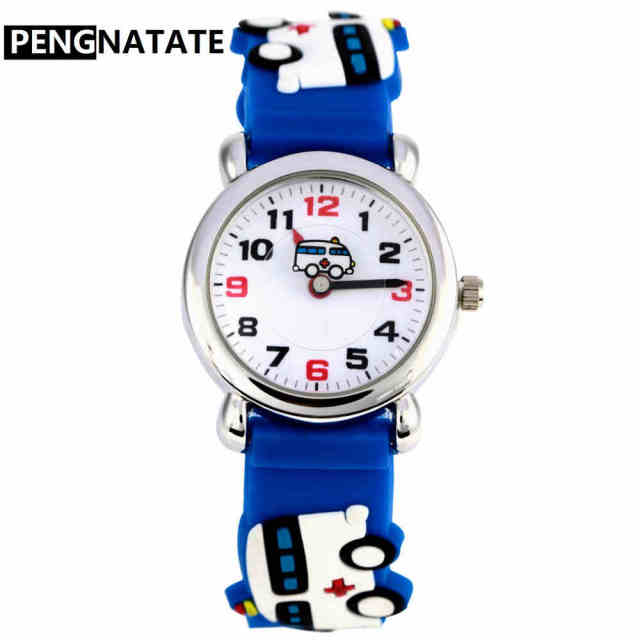 girls color time easy boys young kids band read teacher rainbow character children little ac teen wrist watches zeiger dp cartoon