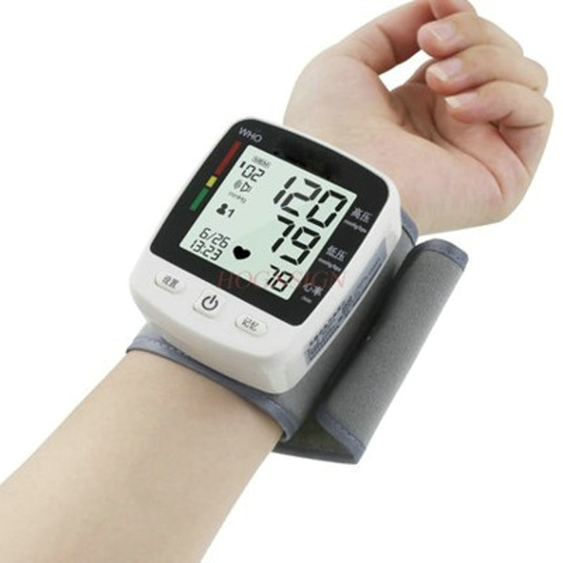 Electronic measuring household pressure automatic high precision wrist type sphygmomanometer measuring instrument instrument