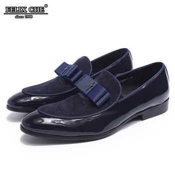 FELIX CHU LUXURY BRAND LOAFERS ELEGANT MEN WEDDING SHOES HIGH GRADE LEATHER NUBUCK LEATHER PARTY BANQUET DRESS MALE CASUAL SHOES - Category 🛒 Shoes