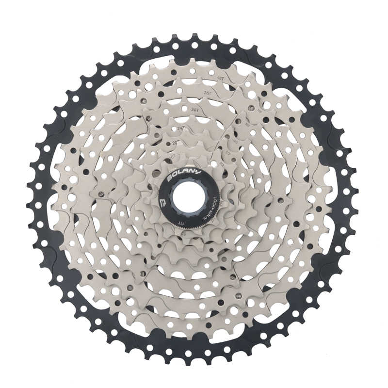 BOLANY 9 Speed Freewheel 11-50T MTB Mountain Bike Cassette Bicycle Sprocket 536g