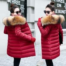 Новые зимние куртки с натуральным мехом, женские пуховики, куртки с воротником из натурального меха енота, женская верхняя одежда, зимнее пальто, женские парки