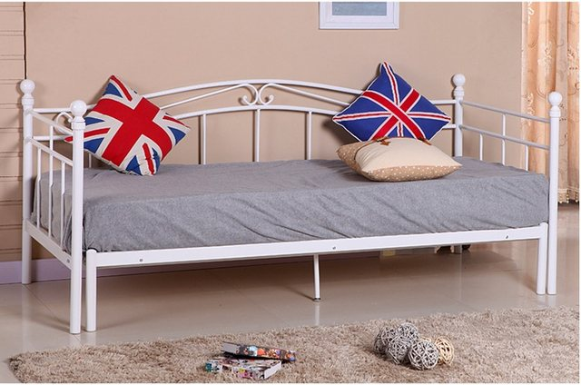 Tienda Online Estilo europeo de hierro cama dormitorio moderno ...