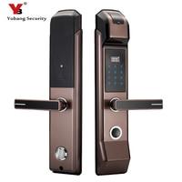 YobangSecurity Smart Fingerprint Door Lock Keyless Lock Unlock With Fingerprint+Password+IC Card+Mechanical Key 4 Unlock Ways