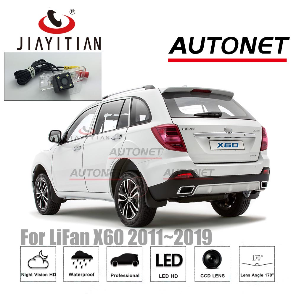JiaYiTian Rear View Camera For Lifan X60 LIFAN X60 2011~2019 CCD Night Vision Backup Camera Parking Camera License Plate Camera