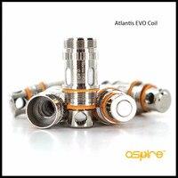 Razem Aspire Atlantis Wymiana Głowicy Cewki EVO 1 pack 0.5ohm 0.4ohm i 1 pack dla Serii Atlantis Atomizer 10 sztuk paczka