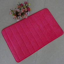 Fashion Simple Colorful Delicate Door Mat For Bathroom Kitchen Floor No Dropping Japanese Style Soft 50X80cm and 80X160cm A Set