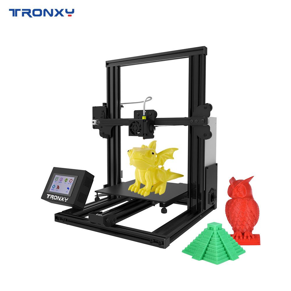 Tronxy 3d Printer High Precision Nozzle Printing Diy Kit Touch Screen Support Tf Card Usb Interface Free Sample Pla Filament
