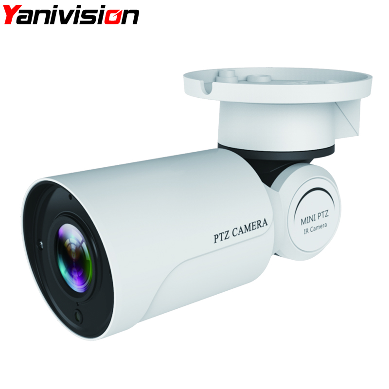 Yanivision IP PTZ Bullet Camera 1080P Full HD 4X 10X Optical Zoom IP66 Waterproof 50m IR Night Vision IP Camera Mini Outdoor PTZ hot sell full hd 1080p 2mp outdoor bullet 4x optical zoom 2 8 12mm lens mini ptz bullet hdcvi camera 4pcs leds ir 50m