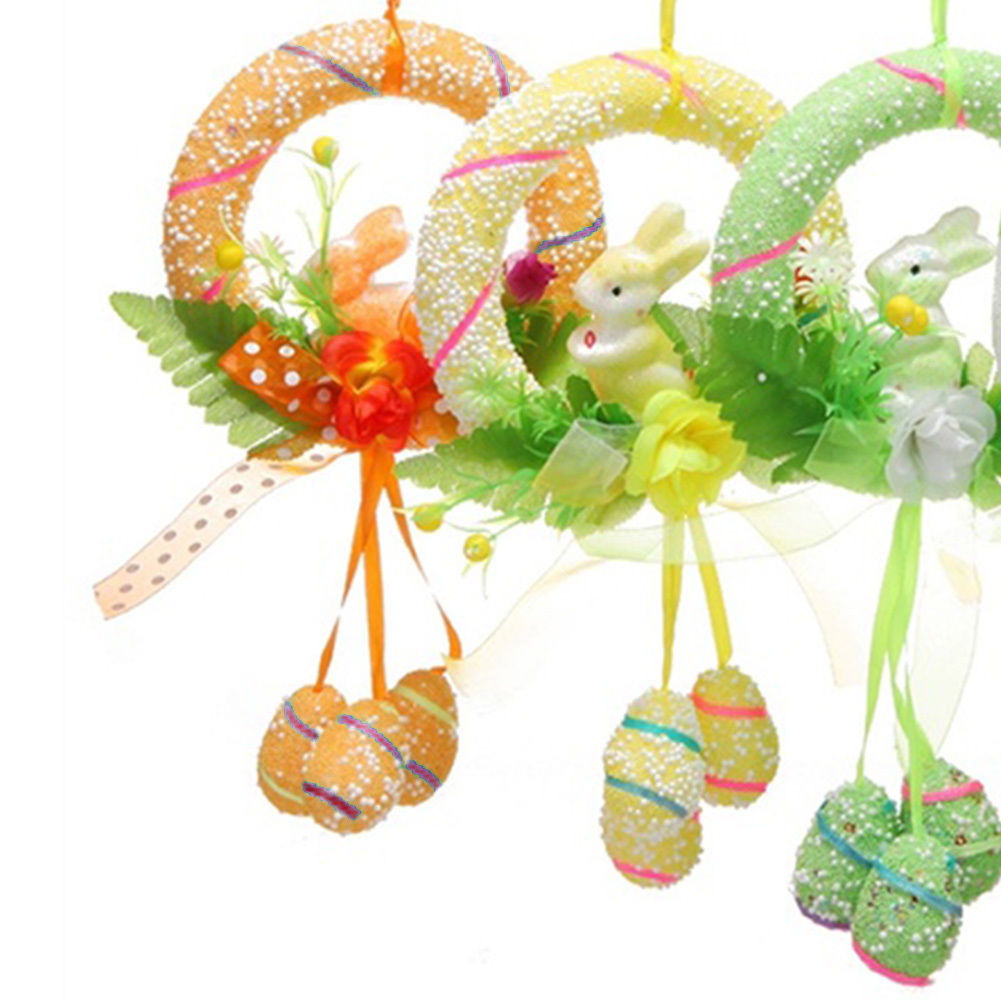 2018 New Easter Spring Party Decor Rabbit Hanging Ornament