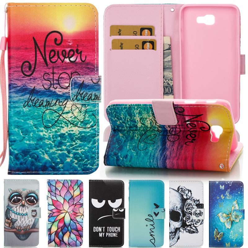 new arrival 24f19 8532a For Coque Samsung Galaxy J5 2017 Case Leahter Wallet Phone Case Samsung  Galaxy J5 2016 Case Flip Cover For Samsung J5 Prime Pro
