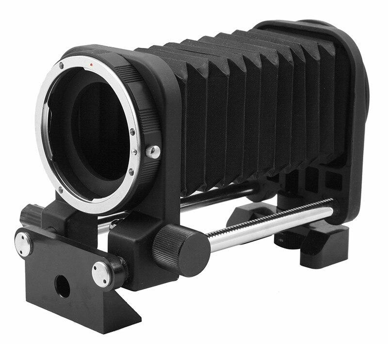 Macro Soufflet D'extension Tube Adaptateur De Trépied pour Nikon D3100 D3200 D3300 D5200 D5300 D5500 D7000 D7200 D800 D700 D90 DSLR