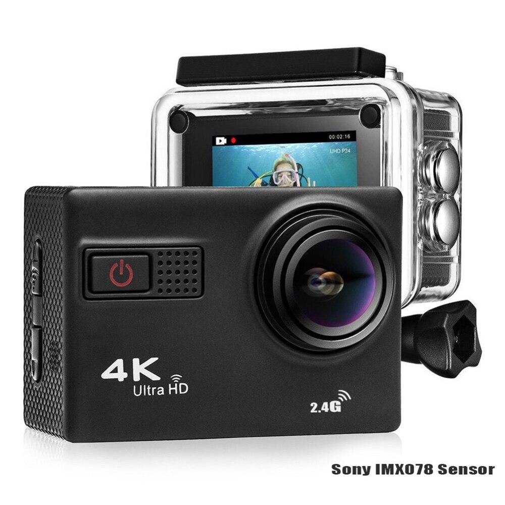 4 K Ultra HD F68 F68R EIS caméra d'action Novatek 96660 Chipset Sony IMX078 Capteur Gopro Style Wi-Fi À Distance Waterpoof Caméra
