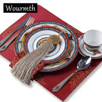 Wourmth In Gold Porcelain Tableware Set Ceramic Dinner Plates Advanced Bone China Western Style Food Container