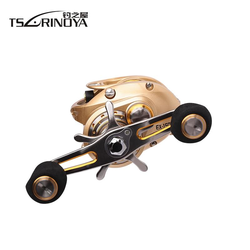 Tsurinoya EX-150L EX150-R 10bb 7kg arraste magent