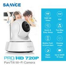 SANNCE 720 P камера системы безопасности HD 1.0MP Беспроводной IP камера P2P ночное видение CCTV поддержка двухстороннее аудио видеоняни и Радионяни