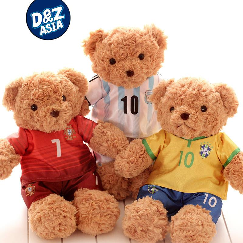 Football Players Toys For Toddlers : Plush football player toys doll world cup