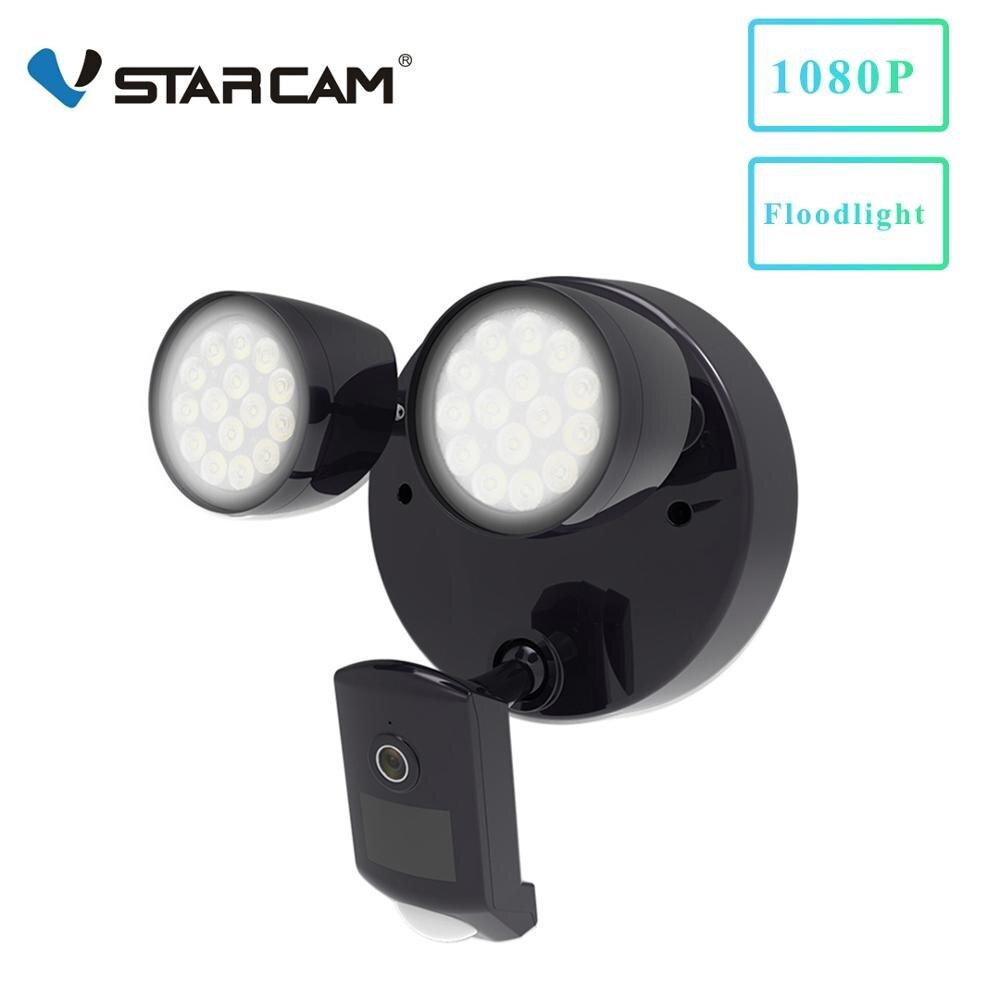 Vstarcam 1080 P открытый 2 светодиодный прожектор IP камера Wifi камера IP66 водонепроницаемый обнаружения движения, видеонаблюдения камеры безопасно