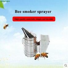 Kit de Ferramentas Ferramenta de Apicultura Apicultura abelha Transmissor De Fumo Manual fumoir inox fumantes abelhas e apicultura rook fakkels