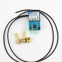 MAC 3 Puerto 35A-AAA-DDBA-1BA Con Silenciador De Cobre Amarillo Válvula de Solenoide de Control de Impulso Electrónico