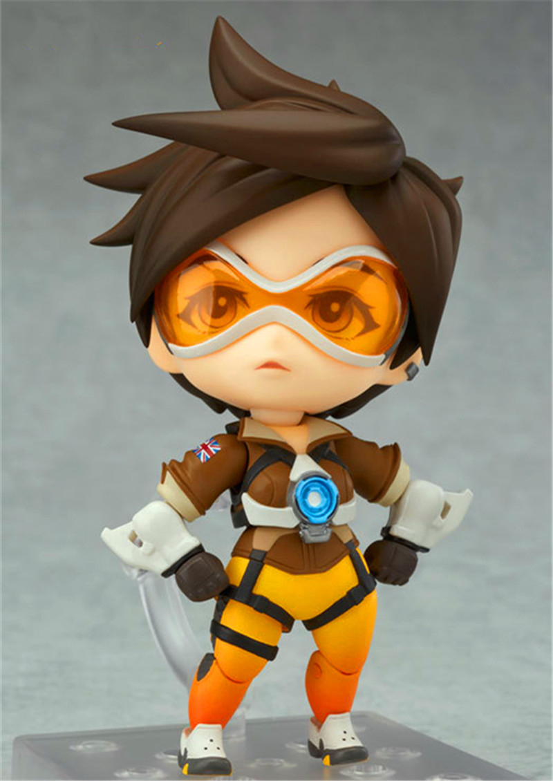 Anime Game Tracer Nendoroid Q Version PVC Action Figure Collectible Model Toy DE380 action game cartridge alcahest english language usa version