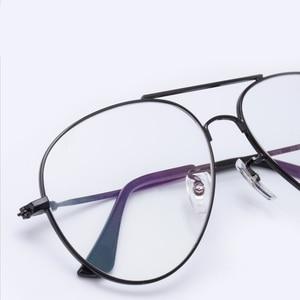 Image 2 - Cubojue Aviation Glasses Frame Men Women Titanium Eyeglasses Men Spectacles Ultra Light Fashion or Prescription Vintage Eyewear