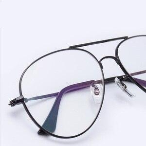 Image 2 - إطار نظارات طيران من Cubojue للرجال والنساء نظارات من التيتانيوم للرجال نظارات فائقة الخفة على الموضة أو وصفة طبية نظارات كلاسيكية